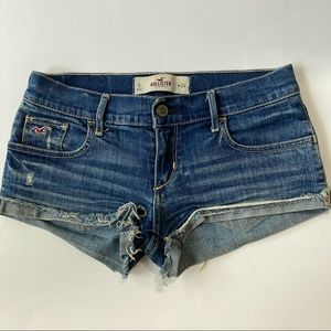 Hollister | Stretch Jean Distressed Shorts